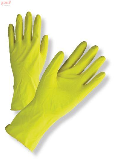 Žluté latexové úklidové rukavice 4c0b02dd72