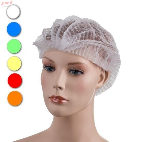 465db91d9 Pokrývky hlavy, vousů. Jednorázové čepice z netkané textilie